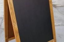 штендер меловой с планкой, 1,1х0,7м